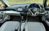 Honda CR-Z dashboard