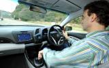 Driving the Honda CR-Z