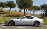 Maserati GranTurismo side profile