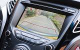 Hyundai i40 reversing camera