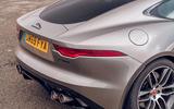 Jaguar F-Type 2020 road test review - rear end