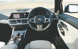 Alpina B3 Touring 2020 road test review - dashboard