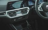 12 alpina d3 touring 2021 uk first drive review infotainment