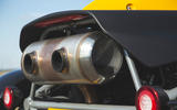Ariel Atom 4 2019 road test review - exhaust