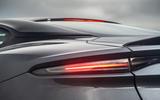 Aston Martin DBS Superleggera 2018 road test review - rear lights
