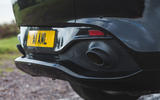 Aston Martin DBX 2020 road test review - exhausts