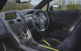 Aston Martin Rapide AMR 2019 first drive review - dashboard