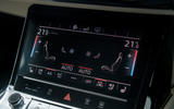 Audi E-tron 55 Quattro 2019 road test review - climate controls