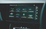 12 Audi E Tron S 2021 RT touchscreen
