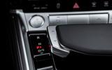 Audi E-tron Sportback 2020 road test review - gear selector