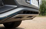 Audi Q8 50 TDI Quattro S Line 2018 road test review - exhaust