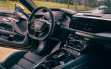 12 audi rs e tron gt 2021 lhd first drive review dashboard