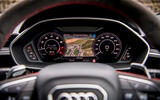 Audi RS Q3 2020 road test review - instruments