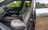 Audi S4 TDI 2019 road test review - cabin