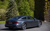 Audi S7 Sportback TDI 2020 road test review - static rear