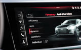 Audi S8 2020 road test review - infotainment