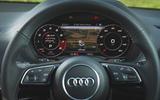 Audi SQ2 2019 road test review - instruments