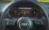 Audi SQ2 2019 road test review - instruments