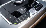 BMW 3 Series 330e 2020 road test review - centre console