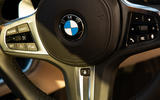 BMW 3 Series Touring 2020 road test review - steering wheel