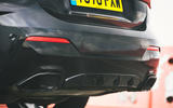 12 BMW 4 Series M440i road test review 2021 exhausts