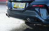 BMW 8 Series Coupé 2019 road test review - exhausts
