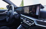 12 BMW i4 M50 2021 first drive review infotainment