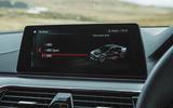 BMW M5 2018 review infotainment