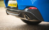 BMW X2 M35i 2019 road test review - exhausts
