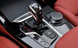 BMW X3 M Competition 2019 review - centre console