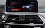 BMW X4 2018 road test review infotainment
