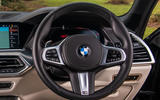 BMW X5 2018 road test review - steering wheel