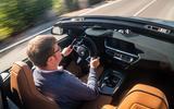BMW Z4 2018 review - Matt Saunders driving