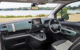 Citroen Berlingo 2018 road test review - dashboard