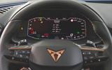 Cupra Leon 2020 road test review - instruments