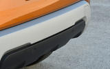 Dacia Duster 2018 road test review rear bumper