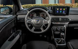 12 dacia sandero tce 90 2021 uk first drive review steering wheel