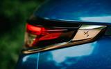DS 3 Crossback 2019 road test review - rear light details