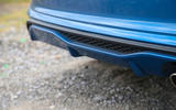 Ford Fiesta ST 2018 road test review rear diffuser