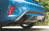 Ford Focus ST 2019 road test - exhausts