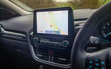 Ford Puma 2020 road test review - infotainment