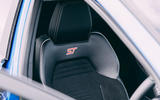 12 Ford Puma ST 2021 road test review front seats