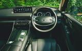 12 Genesis GV80 2021 road test review dashboard
