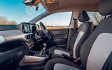 Hyundai i10 2020 road test review - cabin
