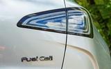 Hyundai Nexo 2019 road test review - rear lights