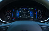 Hyundai Santa Fe 2019 road test review - instruments