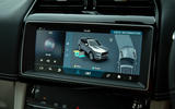 Jaguar F-Pace SVR 2019 road test review - 4wd modes display