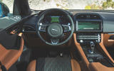 Jaguar F-Pace SVR 2019 first drive review - dashboard
