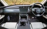 Jaguar XF Sportbrake 2019 road test review - dashboard