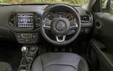 Jeep Compass 2018 highway exam examination - dashboard